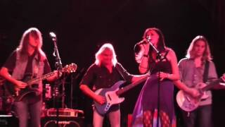Eleven year old Andalyn shares the stage with Cliff Williams Bassist from AC/DC