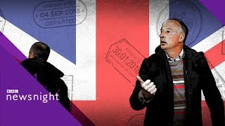 The big Brexit roadtrip: Northern Ireland - BBC Newsnight