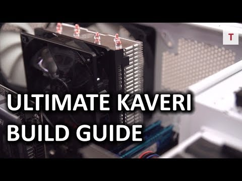 "ULTIMATE AMD Kaveri APU PC Computer ""How To"" Build Guide - Smashpipe Tech"