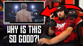RAPPER REACTS to Logan Paul - GOING BROKE (Antonio Brown Diss Track)