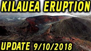 NEWS UPDATE Hawaii Kilauea Eruption Hurricane Olivia Report for 9/10/2018