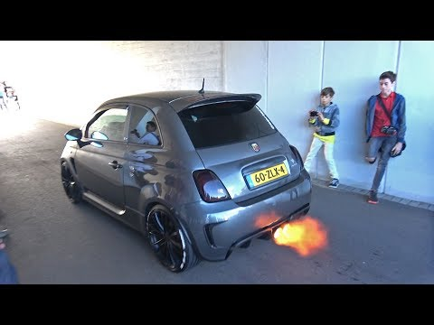 Abarth 595 Competizione Stage 4 with Capristo Exhaust System!