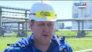 Омским журналистам показали, как ведется строительство современной установки тактового налива нефтепродуктов