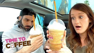 Girl Scout Cookie-Flavored Coffee Taste Test!