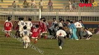 Sự cố trên sân Long An ở Giải vô địch quốc gia 1998