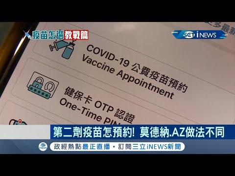 """各大醫院開放預約接種""""第二劑""""AZ疫苗! 國內莫德納疫苗因貨源不足.第二劑僅優先開放第一類人員施打 醫師呼籲:兩者保護力不相上下│【台灣要聞。先知道】20210714│三立iNEWS"""