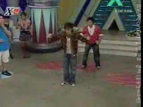 woohyuk dancing on xman h.o.t remix