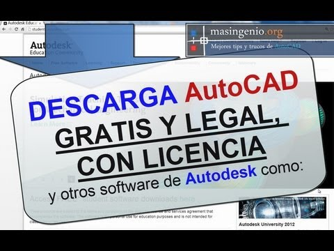 Descarga AutoCAD 2014 Gratis Y Otros Software De Autodesk - Smashpipe Tech Video