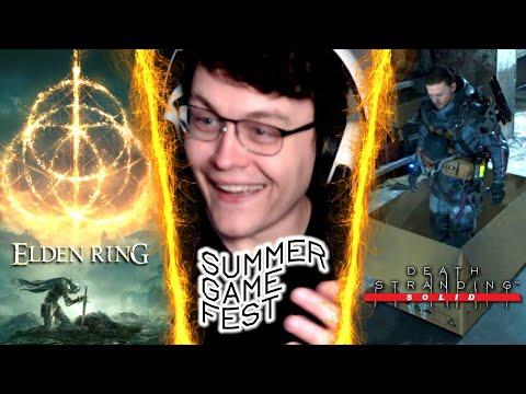 ELDEN RING! Summer Game Fest 2021 Trailer Reactions   RogersBase E3 2021