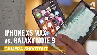 iPhone XS Max vs. Galaxy Note 9 - Camera Shootout