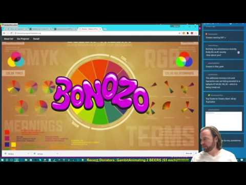 WPF WebBrowserControl Web Based Twitch Desktop App in C# (first time)