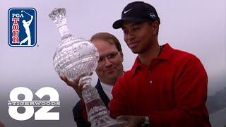 Tiger Woods wins 2000 AT&T Pebble Beach National Pro-Am Chasing 82