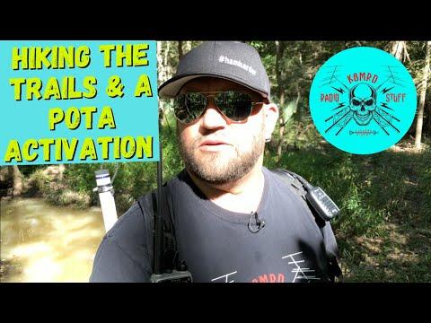 Hiking the Trails | POTA Activation