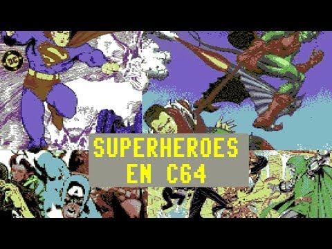 C64 REAL 50Hz: Juegos de Superhéroes en el Commodore64 con Spidey