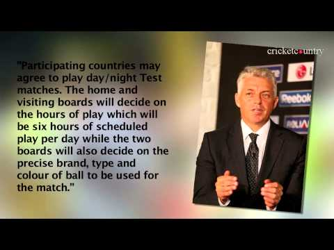 ICC approves day-night Test cricket; colour of balls also among new playing conditions