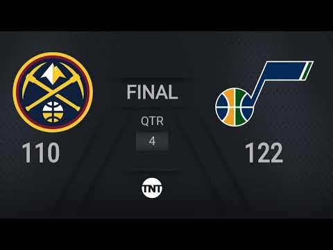 Nuggets @ Jazz  | NBA on TNT Live Scoreboard