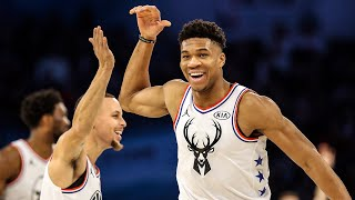 Giannis Antetokounmpo Best NBA All-Star Game Plays Of All-Time | Team Giannis vs Team LeBron