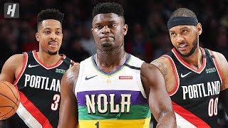 New Orleans Pelicans vs Portland Trail Blazers - Full Highlights   February 21   2019-20 NBA Season