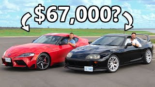 2021 Toyota Supra vs 1994 Toyota Supra // JDM Legends Face Off