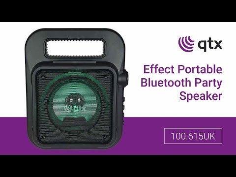 Portable bluetooth party speakers