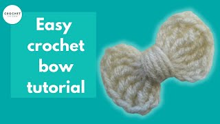 How to Crochet a Bow