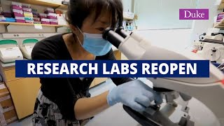 Duke Lab Tour with New Safety Guidelines video