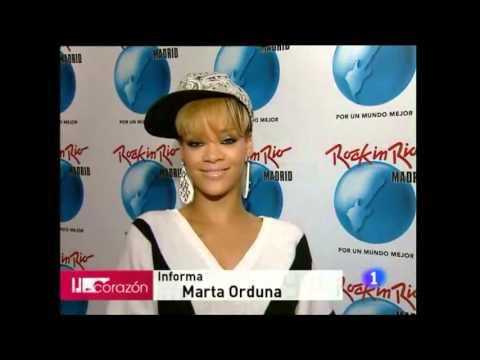 Rihanna hablando Español (Videos)
