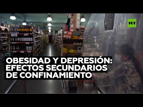 Obesidad y depresión: efectos secundarios de confinamiento