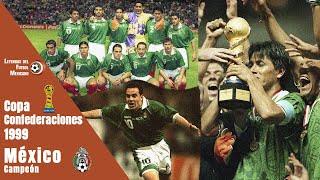 Cuando CUAUHTÉMOC se hizo HÉROE NACIONAL - MÉXICO Campeón de la COPA CONFEDERACIONES 1999 🏆