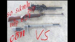 so sánh sức mạnh của 3 cây súng