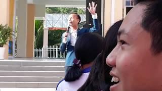 Chuyên gia tâm lý Huỳnh Anh Bình tại THPT Phan Văn Trị Phong Điền