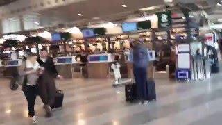Milano Malpensa airport check in desk