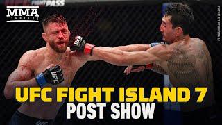 UFC Fight Island 7: Holloway vs. Kattar Post-Fight Show ft. Laura Sanko - MMA Fighting