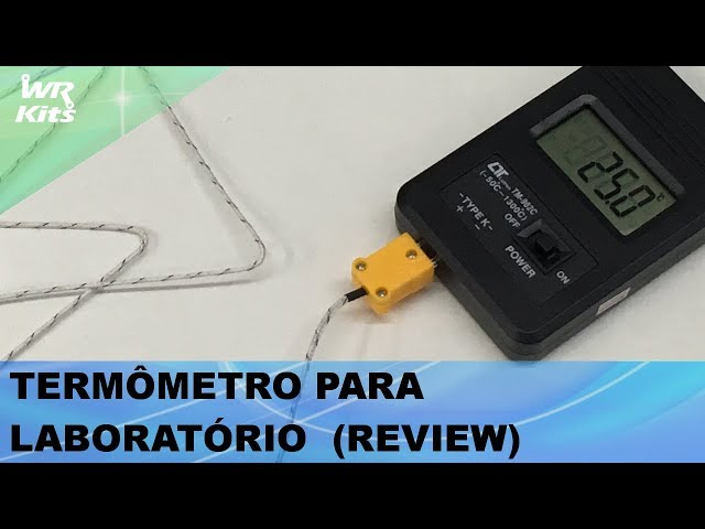 TERMÔMETRO PARA LABORATÓRIO (REVIEW)