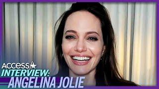 Angelina Jolie Hopes Her Kids Don't Dislike Her 'Eternals' Role