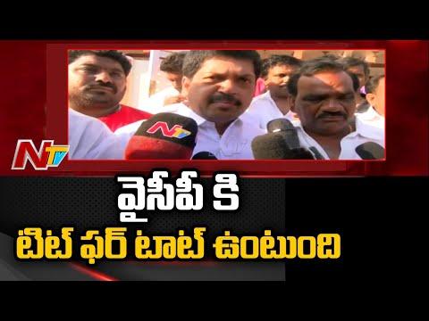 Minister Perni Nani foisted false cases against me, alleges Kollu Ravindra