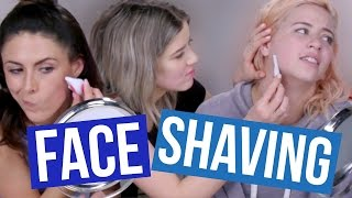 We SHAVED Our Faces?! (Beauty Break)