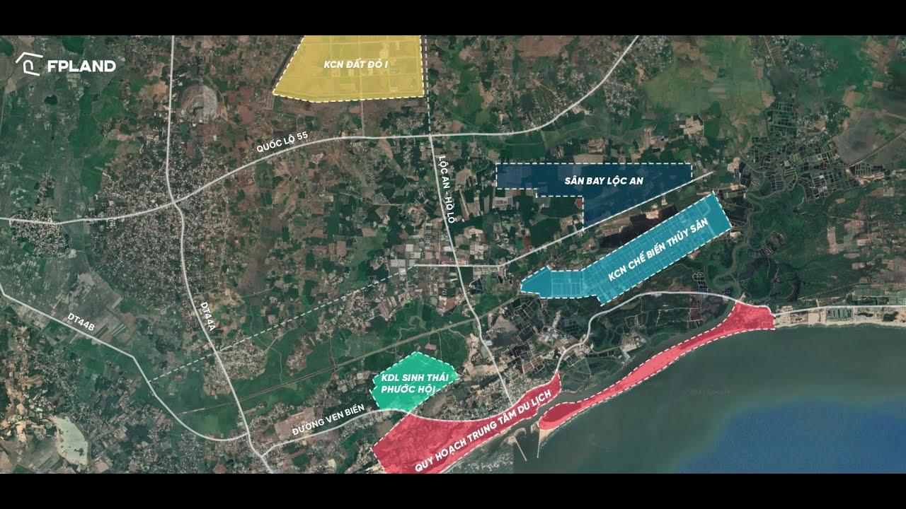 Đất Ven Biển thích hợp đầu tư dịch vụ du lịch, DT 214m2 giá 2,13 tỷ. LH 0961434353 video
