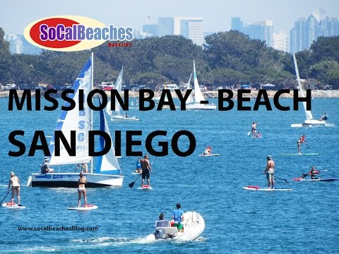 Mission Bay San Diego - A Day at the Beach!