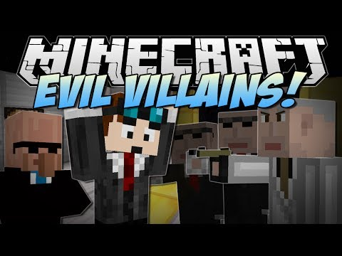 Minecraft   EVIL VILLAINS! (Jetpacks, Ninjas, Arch Agents & More!)   Mod Showcase - Smashpipe Games