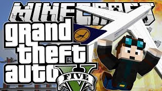 Minecraft | Grand Theft Auto (GTA) | PLANE STUNTS! | Mods Showcase [Funny Moments]