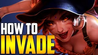 Nidalee: Dominating the enemy jungle early game! - HOW TO DOMINATE EP. 32