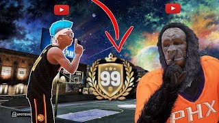 I TRIED TO GO UNDERCOVER WITH 3 99 OVERALLS...( and it miserably failed) NBA 2k19 3 99 overalls
