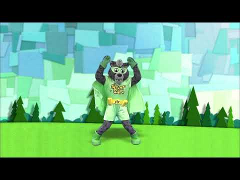 screenshot of youtube video titled Exercise With Smart Cat | Jumping Jacks