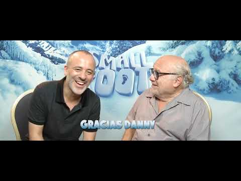 Smallfoot - Danny DeVito y Javier Gutiérrez