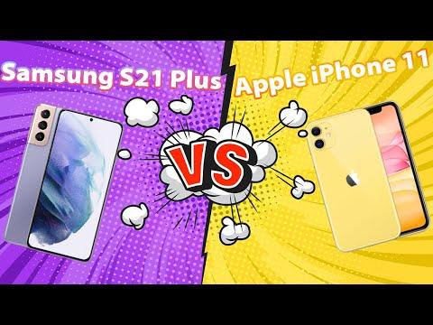 So Sánh Iphone 11 và S21 Plus 5G??