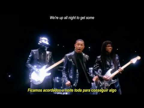 Baixar Daft Punk ft Pharrell Williams - Get Lucky Remix (Legendas Pt/Eng)