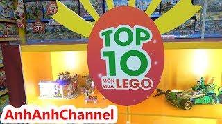 Bé Trâm Anh đi mua Đồ chơi LEGO ở cửa hàng My Kingdom - My Kingdom Top 10 Món Quà Lego Cho Mùa Noel