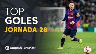 Todos los goles de la Jornada 28 de LaLiga Santander 2018/2019