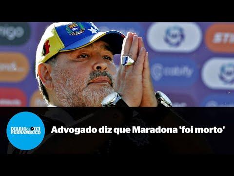 Advogado de enfermeira afirma que Maradona foi morto